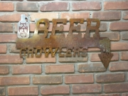 KBC-logo-on-Beer-Growler-sign---brick-A