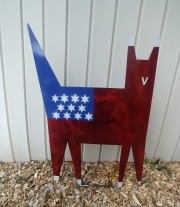 Cat-yard-stake-USA-Flag