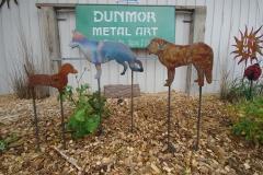 Dog-garden-stakes