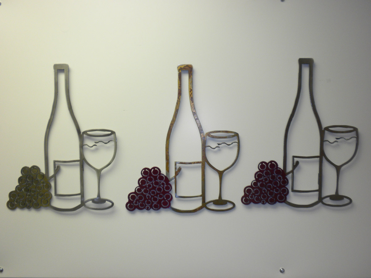 100 Grapes And Wine Home Decor