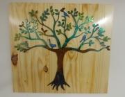 3-Little-Birds-in-Tree-on-natural-wood-blue-birds