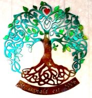 Tree of Life custom w McDonald name