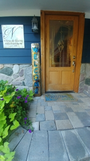 WELCOME-porch-sign-BURNED-RUSTED-w-Blue-back-plate