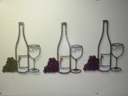 Wine-Bottle,-Grapes-and-Glass---12-inch-A