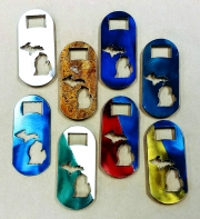 State of MI Pocket bottle openers