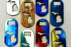 State of MI Pocket bottle openers