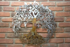 Tree-of-Life---rusted-trunk-on-brick