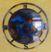 Compass-Burned-w-Great-Lakes-Blue-magnet-yellow-background-Close-up