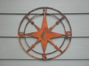 Compass-pre-rusted