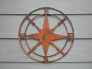 Compass---pre-rusted