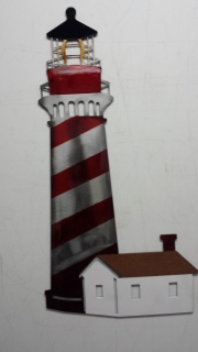Lighthouse-w-House---Red-Wh