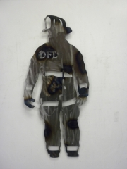 Fireman-burned