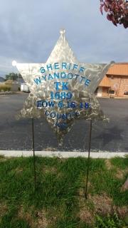 Wyandotte-County-Sheriff-memorial-yard-stake