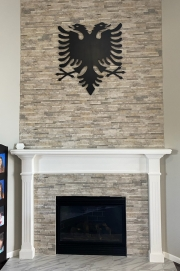 Albanain-Eagle-black-over-fireplace