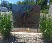 Jim-Susan-K-address-yard-sign-close-up