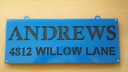 Andrews-address-sign
