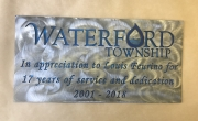 Waterford-Twp-L-Feurino-retirement-sign