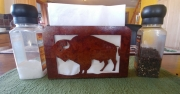 Bison-napkin-holder