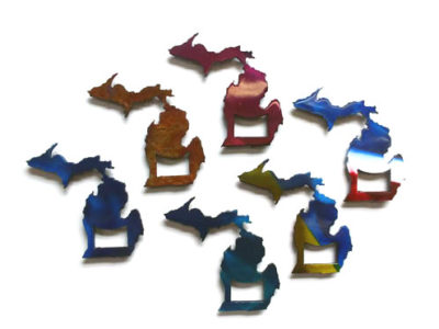 MI Bottle Opener Michigan Metal Product
