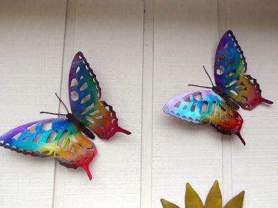 butterfly-metal-art
