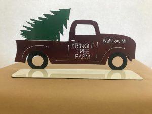 Pick Up Truck, Christmas Tree