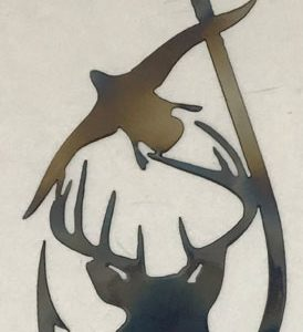 wildlife metal art