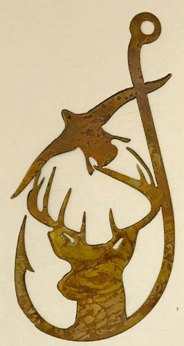 wildlife metal art